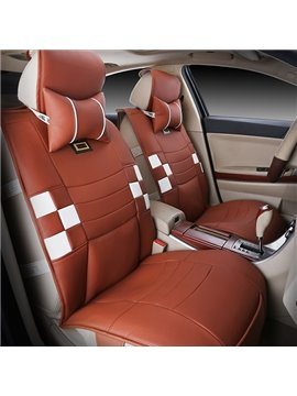 Popular Designed Sporty Style PU Leather Universal Fit Car Seat Cover