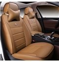 Classic and Durable PU Leather Material Fit 7 Seater Car Seat Cover