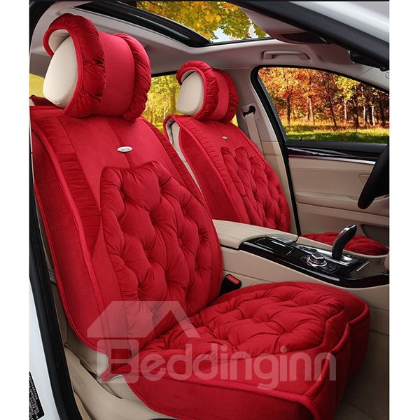 Comfortable and Elegant with Built In Cushions Universal Fit Car Seat Cover