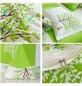 Romantic Tree Print 100% Cotton Kids 3-Piece Duvet Cover Sets