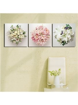 Simple Gorgeous Hydrangea 3-Panel Wall Art Prints