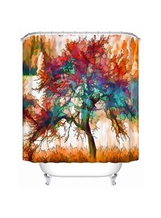 Super Magic Innovative Design Tree 3D Shower Curtain