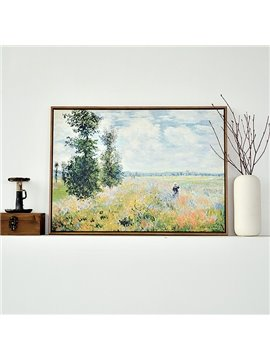 Modern Replica Art Monet Oil Painting 1-Panel Framed Wall Art Print