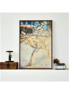 Wonderful Replica Art Van Gogh 1-Panel Framed Wall Art Print