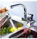 Popular Versatile Double Faucet Heads Kitchen Faucet