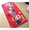 Creative Cartoon Hopscotch Kidsroom Area Rug