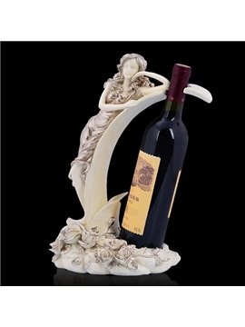 Exquisite Beauty Design Resin Wine Holder
