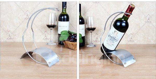 Modern Simple Stainless Steel Wine Rack