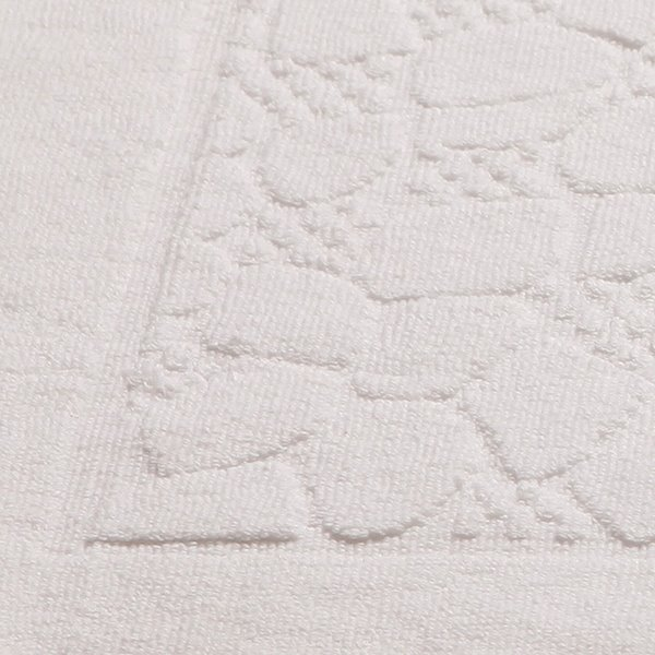 Five Stars Hotel Quality Pure White Thick Bath Rug