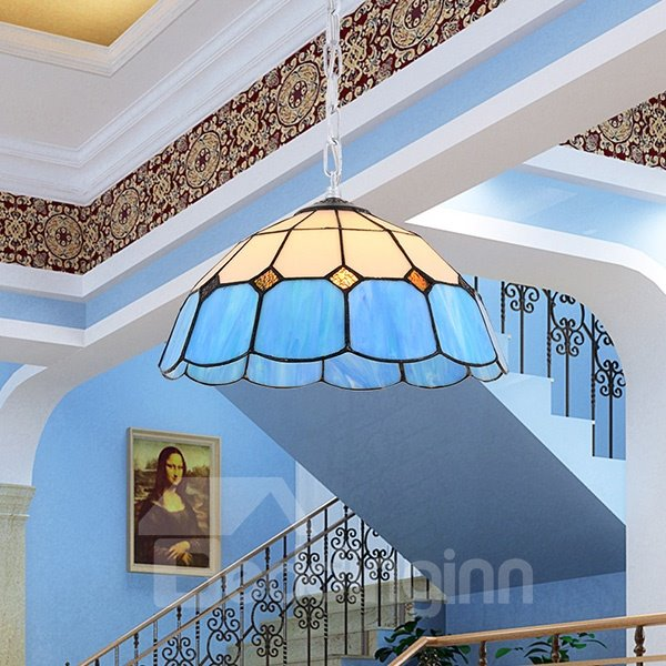 Wonderful Tiffany Mediterranean Style 1-Light Pendant Light