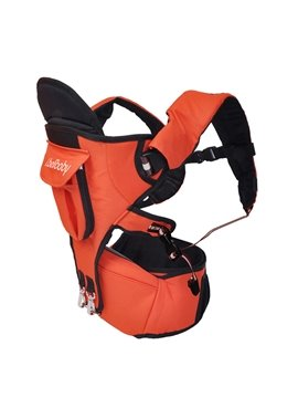 Bouncy Orange Multi Functional Baby Hip Seat Carrier