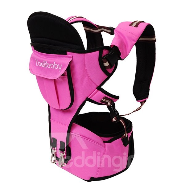 Lovely Pink 2 in 1 Multi Functional Baby Hip Seat Carrier