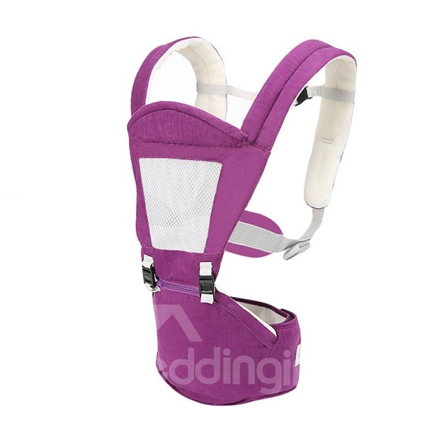 Simple Style Soft Cotton Baby Hip Seat Carrier