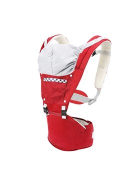 Lovely Cotton Baby Hip Seat Carrier with Windproof Hat