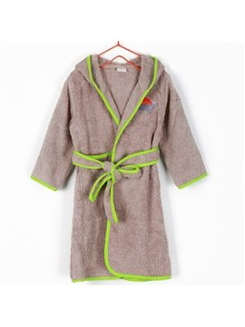Soft and Comfy Purified Cotton Kids Bath Robe
