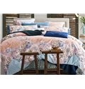 European Style Gorgeous Flowers Print 4-Piece Duvet Cover Sets