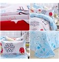 Lively Spring of The Woods Print Kids Cotton Duvet Cover Sets