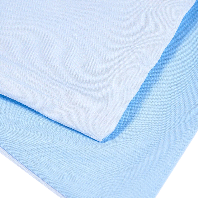 A Group of Penguins Print Light Blue 4-Piece Duvet Cover Sets