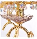 Gorgeous Bohemia Gold-plating Crystal 3-Head Chandelier