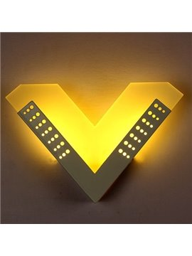Creative V Design Nursery Kidsroom LED Wall Light