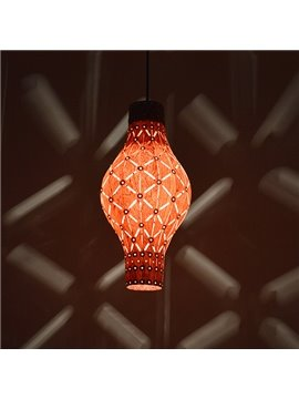 Wonderful Lantern Design Wood Pendant Light