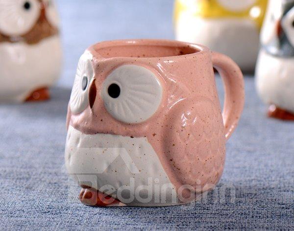 Cute Owl Design Ceramic Coffee Mug