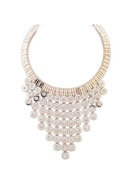 Women' s Fancy Rhinestone Pendant Necklace
