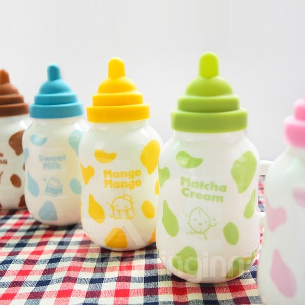 Creative Cute Cartoon Nipple Milk Cup Design Ceramic Milk Cup 11657005