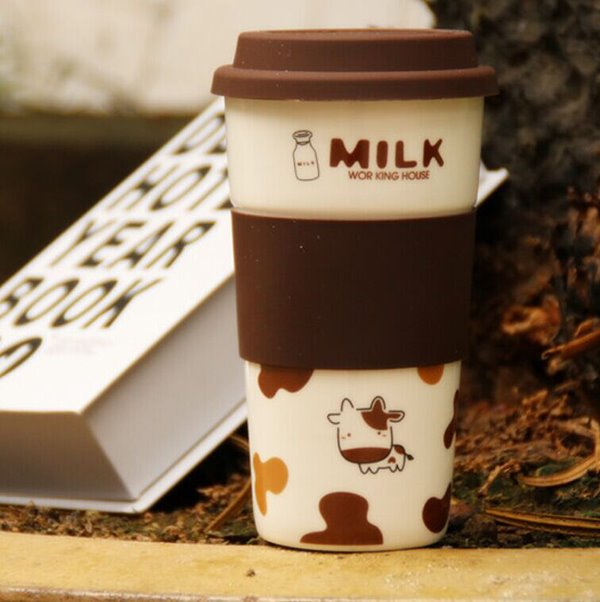 Wonderful Travel Cup Milk Cup Design Ceramic Coffee Cup