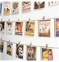 Creative Postcard of Celebrities and Movie Posters Wall Photo Decoration