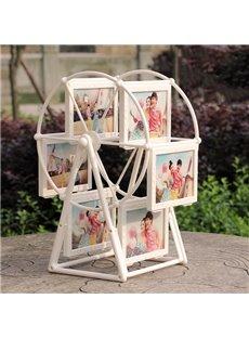 Unique Windmill Design 6-Photo Display Photo Stand