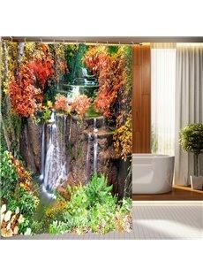 High Quality Marvelous Pastoral Landscape 3D Shower Curtain
