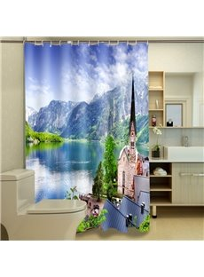 Excellent Natural Beauty Print 3D Shower Curtain