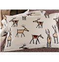 New Style Chic Cartoon Elk Pattern 4-Piece Duvet Cover Sets