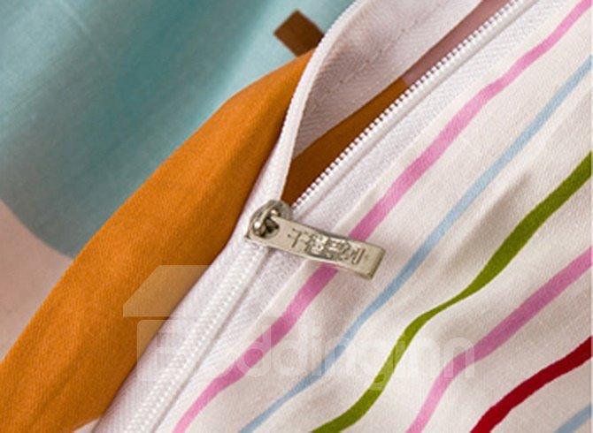 Creative Multicolored Fruit 4-Piece Cotton Duvet Cover Sets