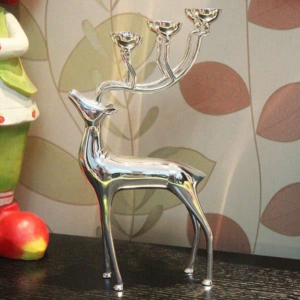 Creative Unique Deer Design 6-Head Candle Holder