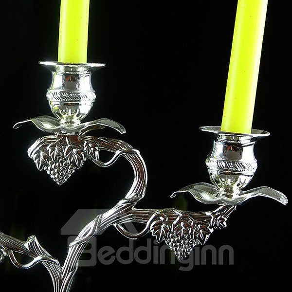 Classic European Style 3-Head Candle Holder