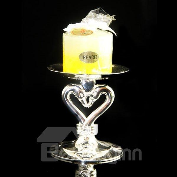 Wonderful Romantic Glass Swan Design Candle Holder 11664312
