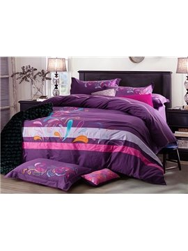 Full Cotton Super Cozy 4-Piece Duvet Cover Sets