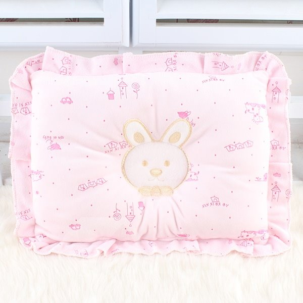 Cute Rabit Design U Shape Prevent Flat Head Baby Pillow