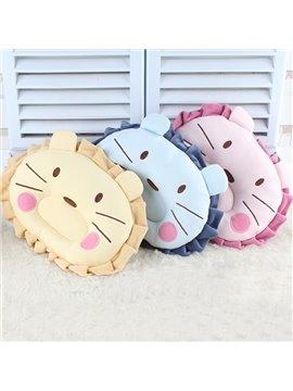 Adorable Little Lion Design U Shape Prevent Flat Head Baby Pillow