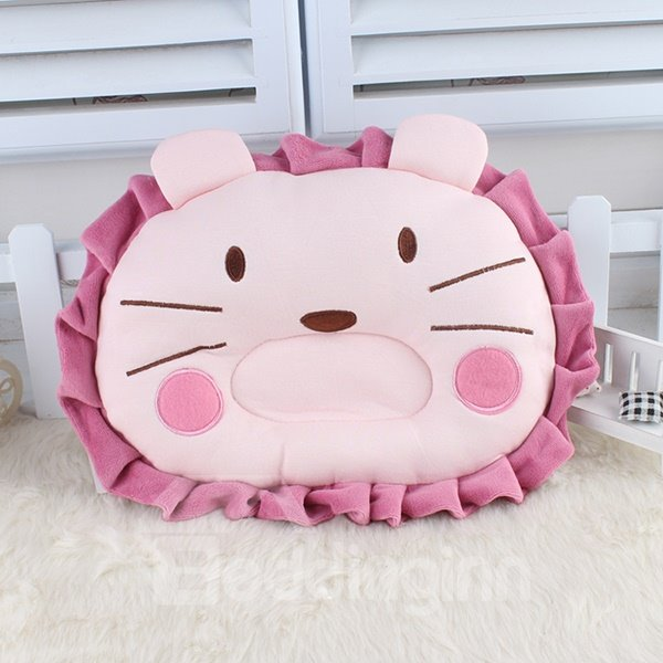 Adorable Little Lion Design U Shape Prevent Flat Head Baby Pillow