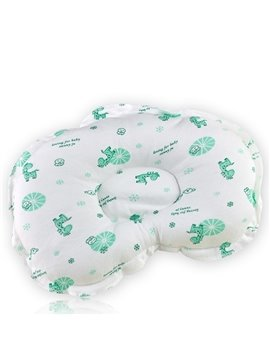 Cute Giraffe Pattern Baby Pillow Prevent Flat Head