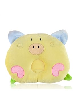 Lovely Piglet Shape Prevent Flat Head Baby Pillow