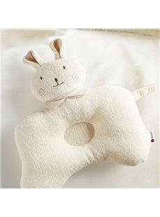 Super Cute Rabbit Design Prevent Flat Head Baby Pillow