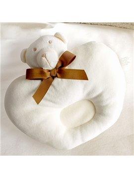 Round Shape Bear Design Prevent Flat Head Baby Pillow