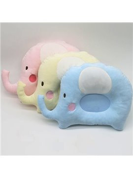 Elephant Design U Shape Prevent Flat Head Baby Pillow