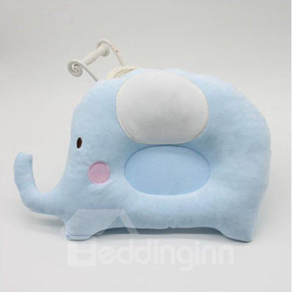 Elephant Design U Shape Prevent Flat Head Baby Pillow