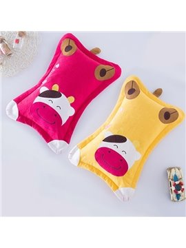 Classic Design Super Cute Cow Print Baby Pillow