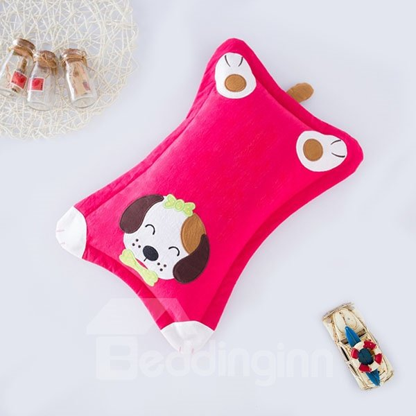 Classic Design Super Cute Puppy Print Baby Pillow